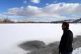 Kızılırmak buz tuttu inanılmaz görüntüler