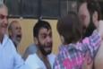 Suriye'de öldüğünü sandığı çocuğunu gören babanın kavuşma anı