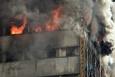 İran'da 17 katlı iş yeri çöktü! Dehşet anlar kamerada