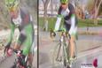 Evlat acısını bisikletle yendi!