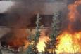 Haseki Hastanesi'nde yangın olay yerinden görüntüler