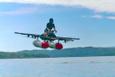 Google'ın kurucusunun uçan otomobili tanıtıldı