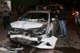 Trafik kazası evli çifti ayırdı
