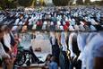 Bayram Namazı'nda müslümanlar Mescid-i Aksa'yı boş bırakmadı!