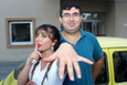 Acil servis önünde sürpriz evlenme teklifi