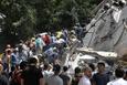 Meksika'da 7.1 şiddetindeki depremle yıkıldı