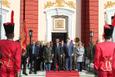 Cumhurbaşkanı Erdoğan Venezuela'da resmi törenle karşılandı