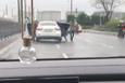 İstanbul'da akılalmaz görüntü: Araç kamerası kaydetti!