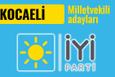 İyi Parti Kocaeli milletvekili adayları 2018 listesi