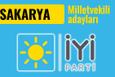 İyi Parti Sakarya milletvekili adayları 2018 listesi