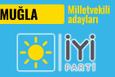 İyi Parti Muğla milletvekili adayları 2018 listesi