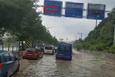 İstanbul yolunu sel bastı!