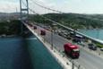 15 Temmuz'un sembolü kamyonlar Şehitler Köprüsü'nden böyle geçti