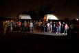 Adana'da 2 minibüste 50 kaçak yakalandı