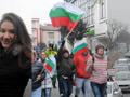 Bulgaristan'da halk sokağa döküldü yollar kapatıldı
