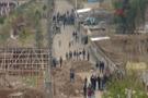 Vatandaşlar polise haber verince ilçede çatışma çıktı