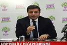 HDP'li Demirtaş'tan 1 Kasım seçim sonucu açıklaması