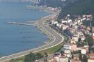 Sürmene'de 800 bin liralık heyelan çalışması
