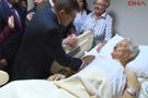 Davutoğlu ailesi yaralıları ziyaret etti