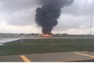 AB yetkililerini taşıyan uçak düştü! Ölüler var
