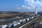 Yavuz Sultan Selim köprüsünde trafik gerginliği!