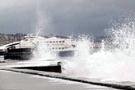 Hava durumu donduruyor İstanbul'da seferler iptal