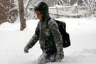 Çorum'da okullar tatil edildi hava durumu fena