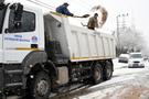 Mersin'de kar yolları kapattı asılsız ihbar belediyeyi bezdirdi