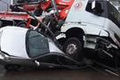 İstanbul'da dehşet anları araçları eze eze...