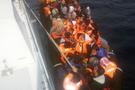 Antalya'da 120 mülteci son anda kurtarıldı