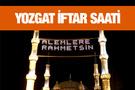 Yozgat iftar vakti akşam ve sabah ezanı saatleri