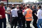 Yaralıların kaldırıldığı hastanede gerginlik! Polis müdahale etti