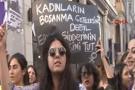 İstiklal Caddesi'nde prezervatifli eylemi!