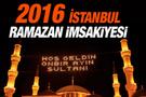 İstanbul iftar vakti sahur saatleri İmsakiye 2016