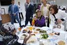 Fatma Şahin huzurevinde iftar yaptı