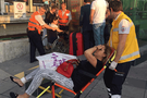 Marmaray'da bomba paniği yaralılar var