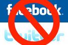 Facebook ve Twitter resmen yasaklandı