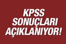 KPSS sonuçları ÖSYM sorgu sayfası açıklanıyor!