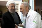 İran lideri Ruhani ile Castro Küba'da buluştu!