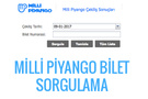 Milli Piyango bilet sorgulama 9 ocak çekilişi