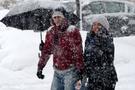 Edirne'de kuvvetli kar yağışı hava durumu kötü