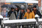 Kocaeli'de kuvvetli kar yağışı hava durumu kötü