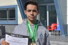 Liseli Mert'ten uluslararası başarı