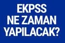EKPSS sınav ne zaman 2018 memur alımı kura tarihleri