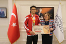 Gaziantep'in milli karatecisi dünya üçüncüsü oldu