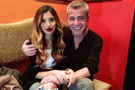 Levet Yüksel'in yeni aşkı Lidya Özdemiroğlu kimdir kaç yaşında nereli
