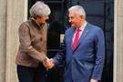 Binali Yıldırım ve Theresa May'dan flaş görüşme