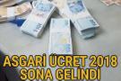 Asgari ücret 2018 yeni zamlı maaşlar Türk İş açıklaması