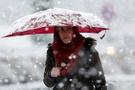 Edirne ve Tekirdağ'da kar yağışı başladı