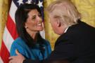 Trump'ın tehditçisi Nikki Haley'i çok fena işlettiler